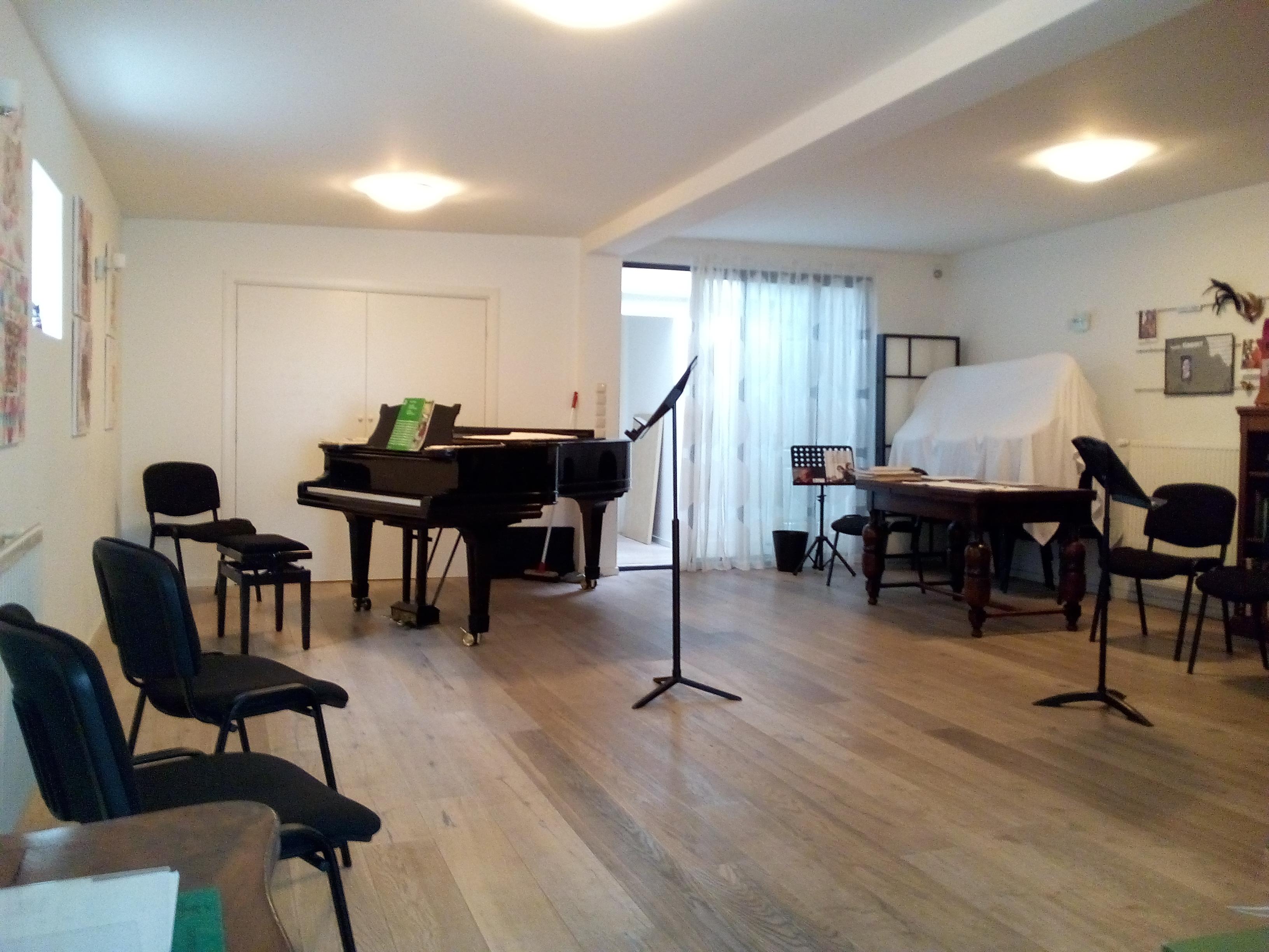 Muziekruimte in Amsterdam voor concerten, leerlingenuitvoeringen en dwarsfluitles