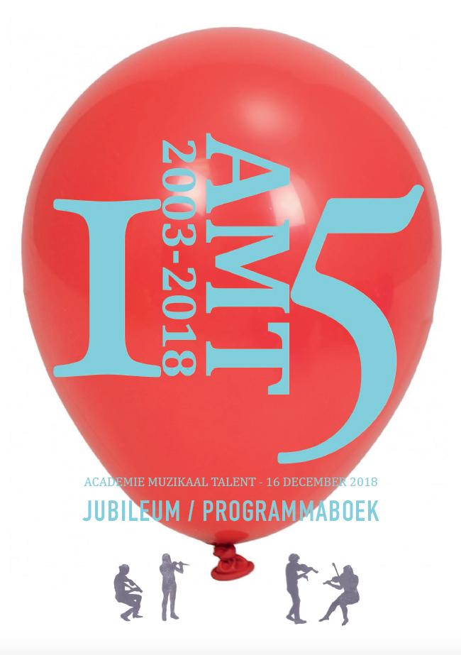 Omslag AMT Jubileumboek 2003-2018