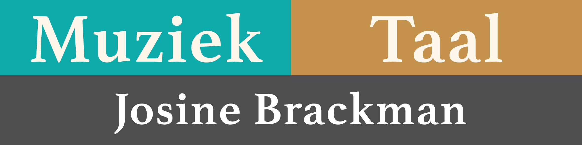 Josine Brackman -  Muziek | Taal